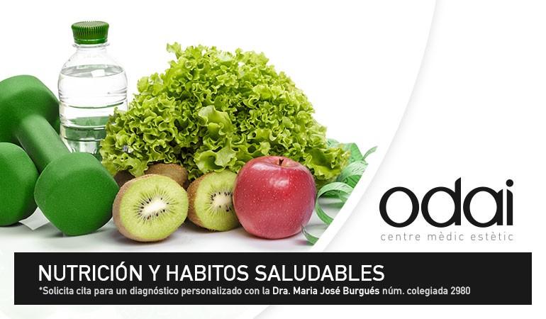 NUTRICIÓN Y HÁBITOS SALUDABLES